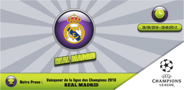 Champions League 2017-2018 26 mai 2018 Victoire finale du Real Madrid